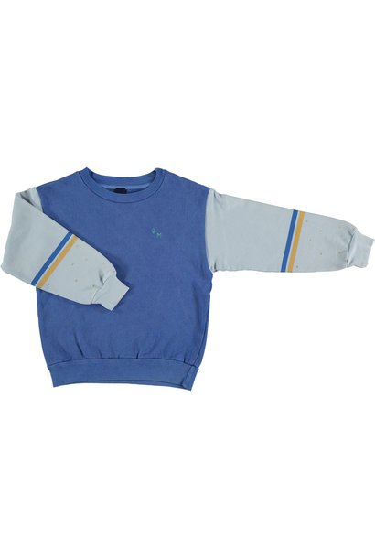 Sweatshirt brushstroke - Fresh Blue