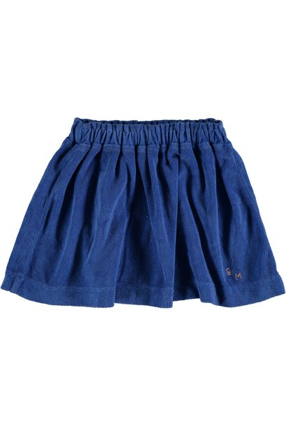 Mini skirt terry bm - Fresh Blue