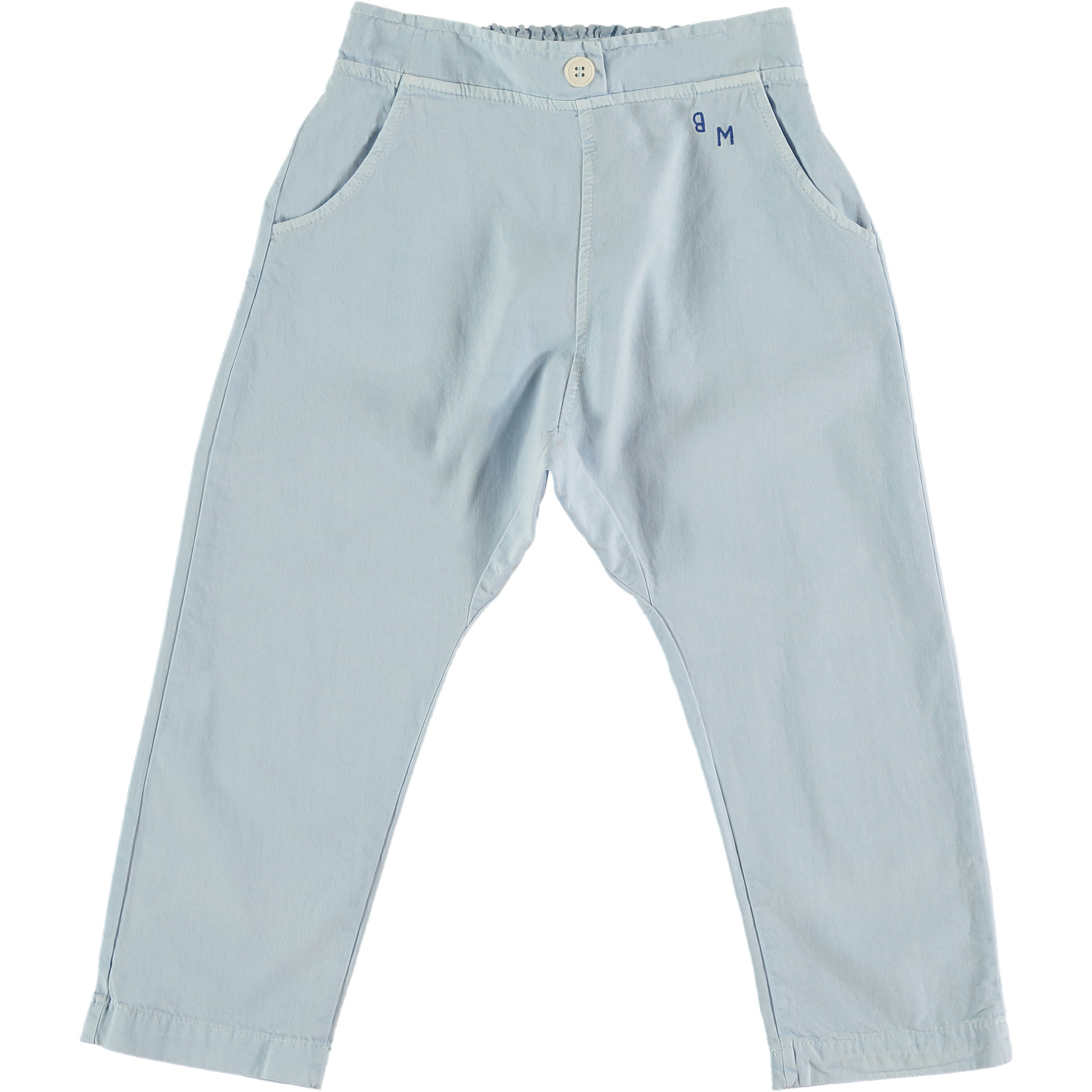 Baggy trousers bm - Light Blue-1