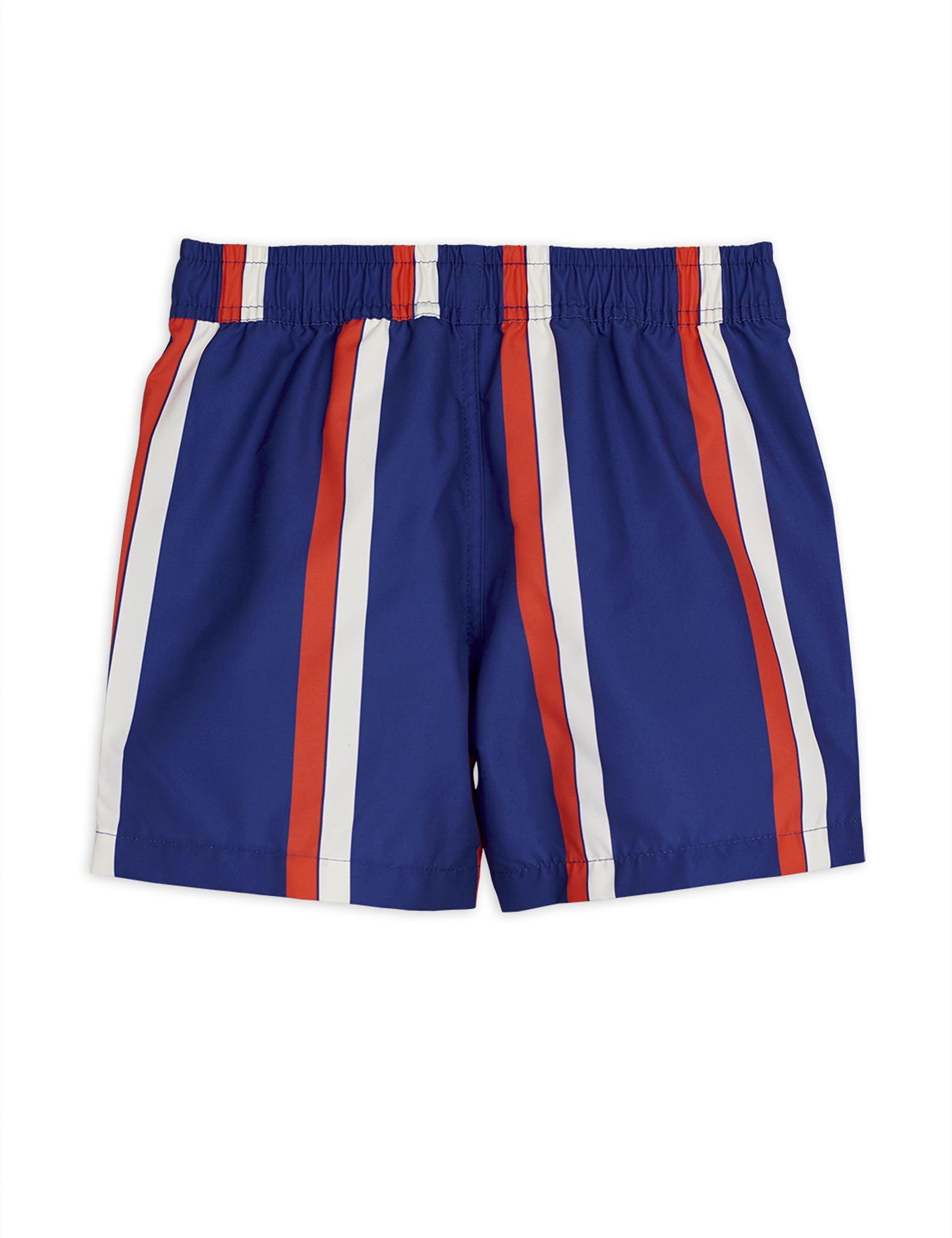 Stripe swimshorts - Blue-3