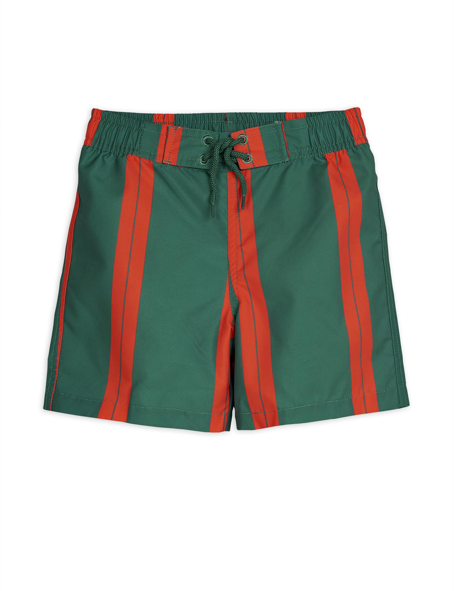 Stripe swimshorts - Green-1