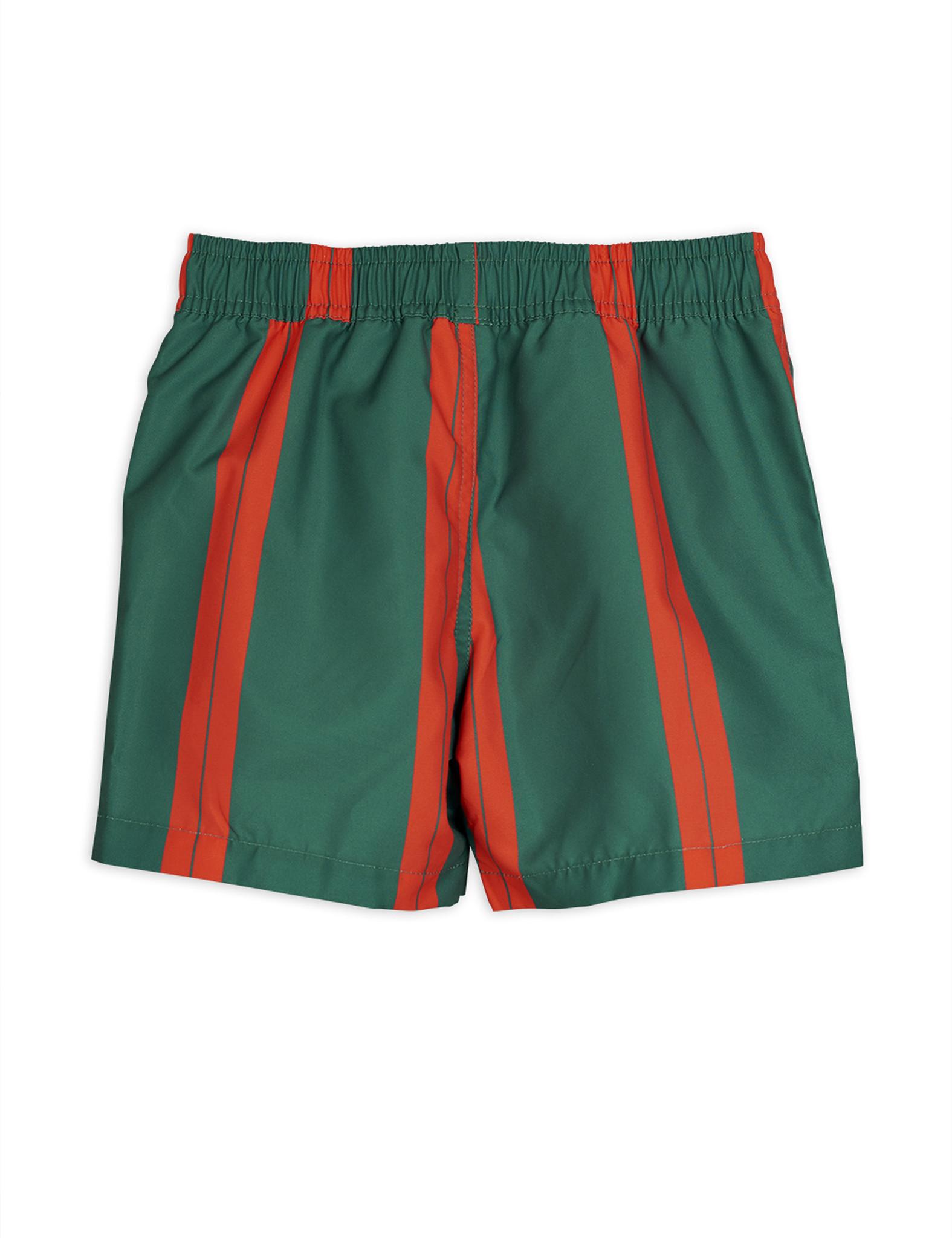 Stripe swimshorts - Green-2
