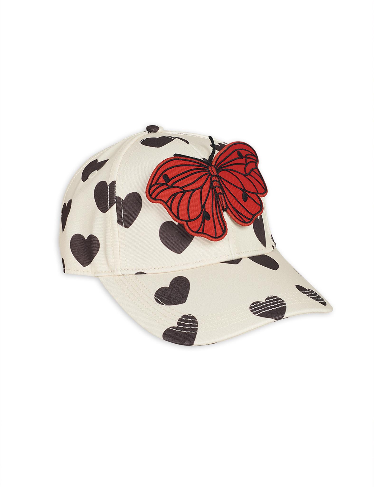 Hearts cap - White-1