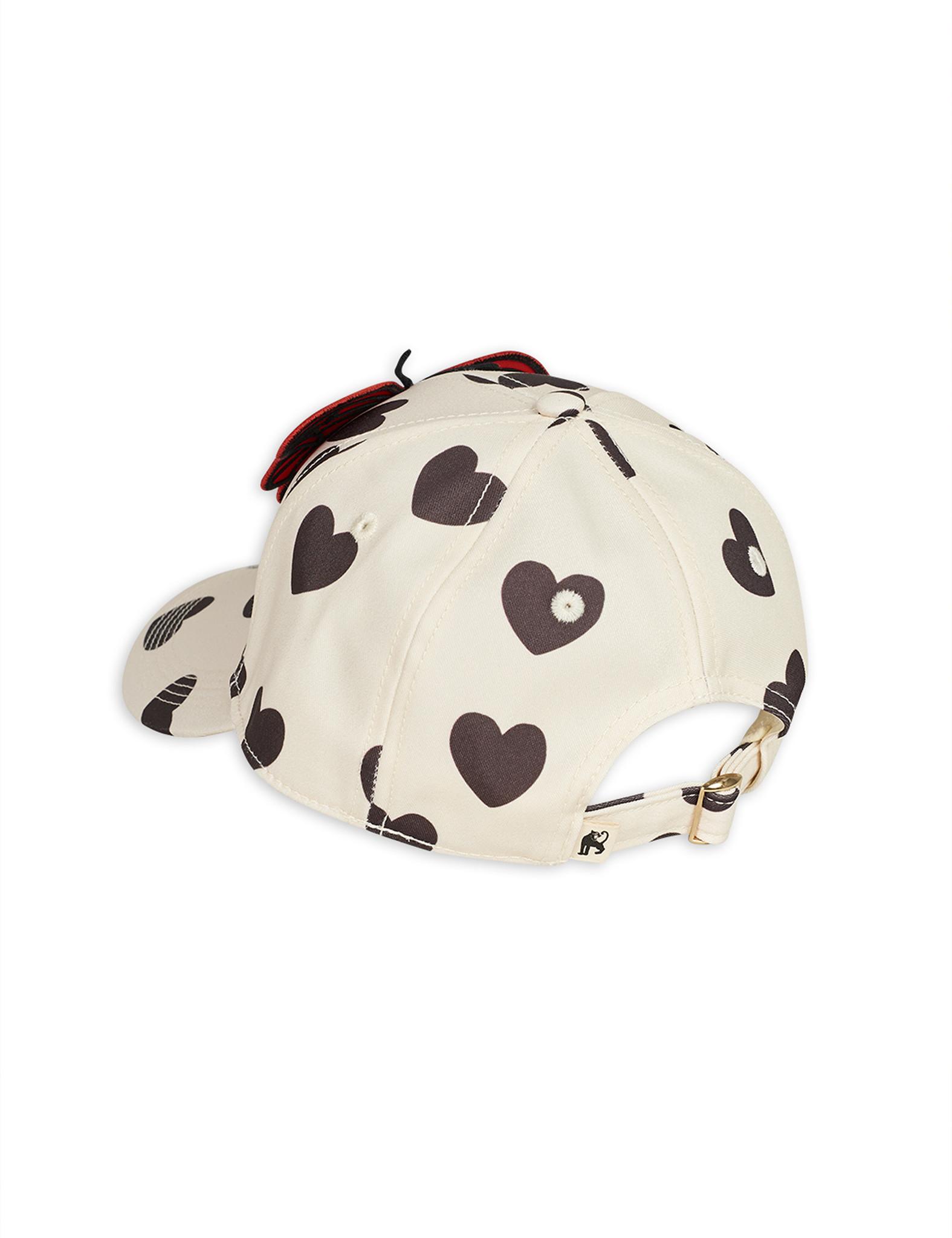 Hearts cap - White-2