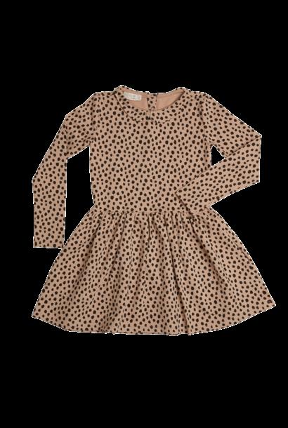 Dress Animal Dot - Warm Sand