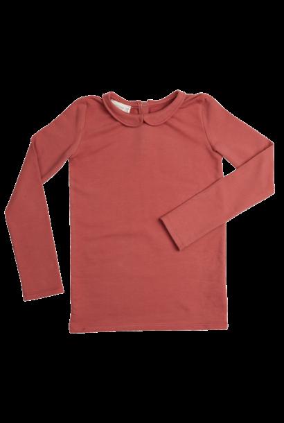 Shirt l/sl Peterpan - Brick Dust