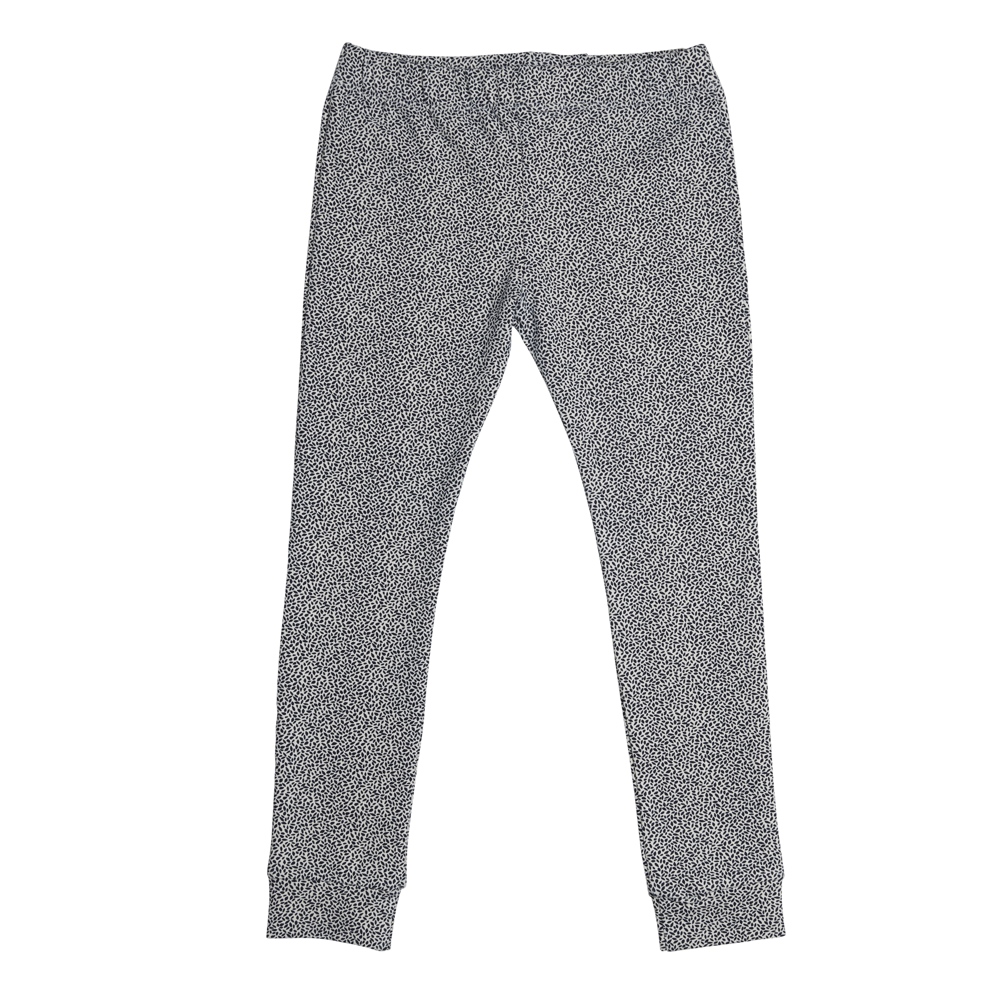 Legging Dotted Leaves - Midnight Blue-1