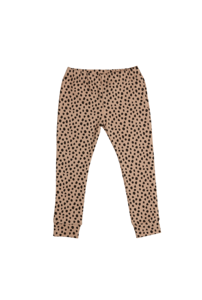 Legging Animal Dot - Warm Sand
