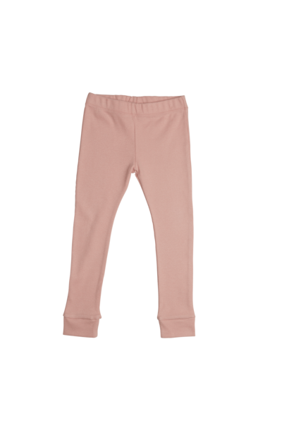 Legging soft rib - Misty Rose