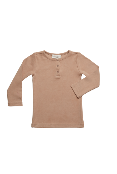 Rib long sleeve - Warm Sand