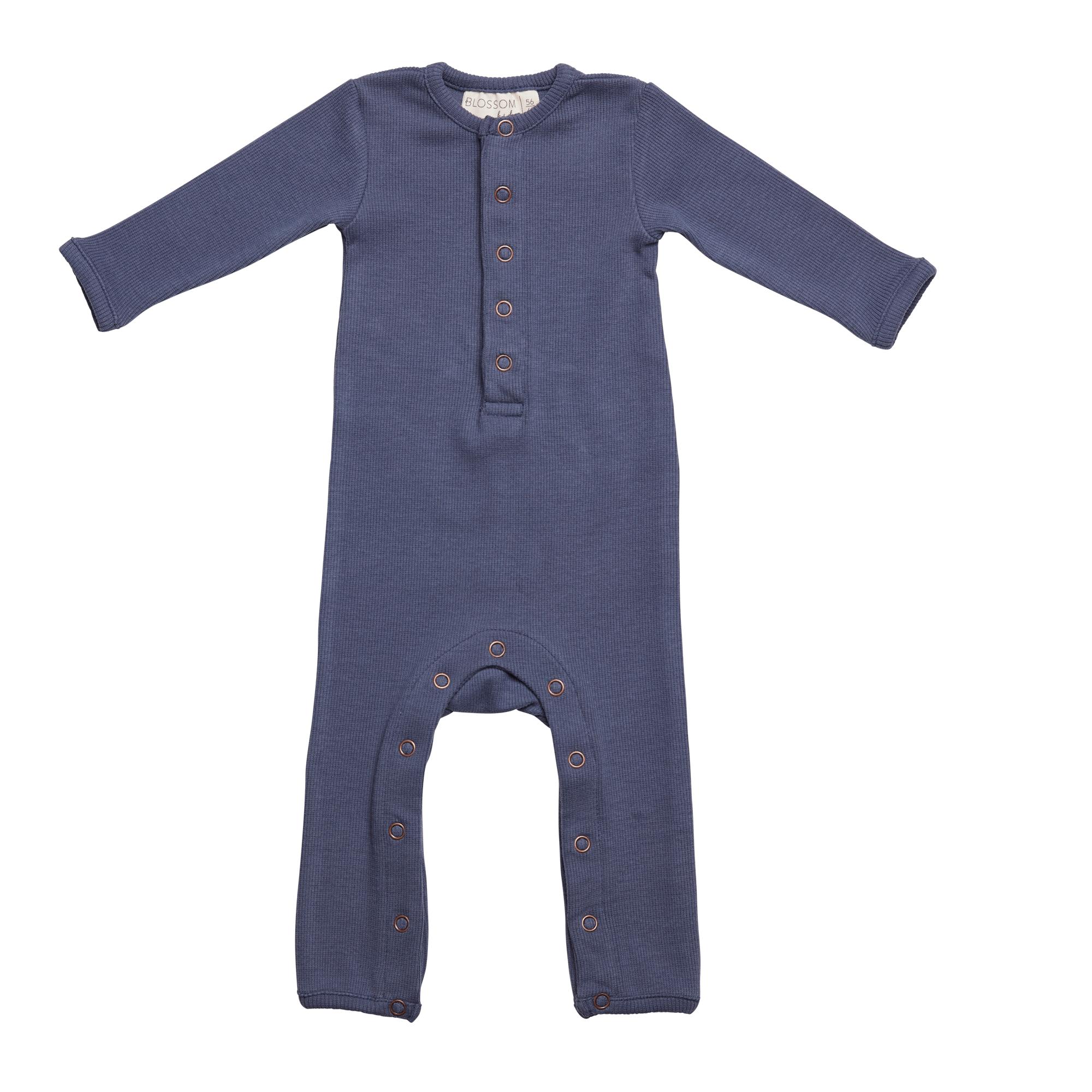 Baby jumpsuit - Dusty Blue-1