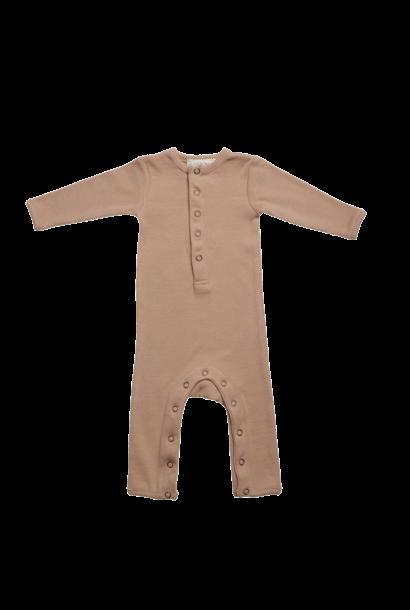 Baby jumpsuit - Warm Sand