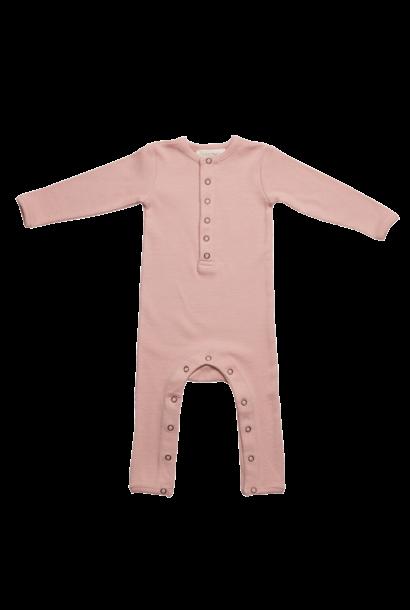Baby jumpsuit - Misty Rose