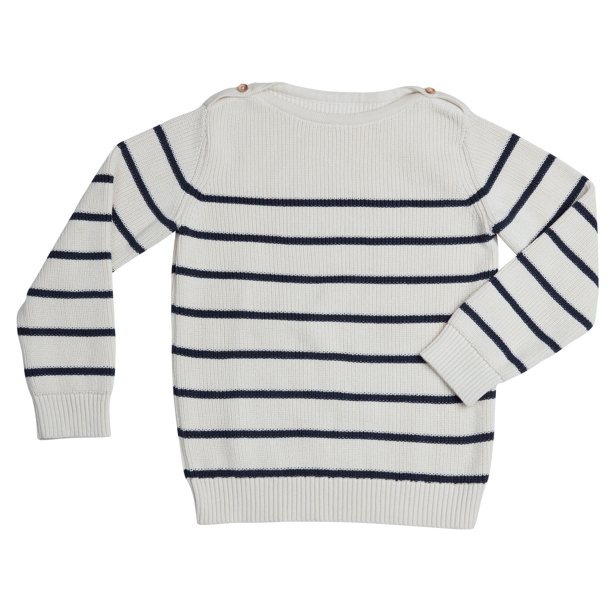 Knitted jumper stripes - Midnight Blue-1