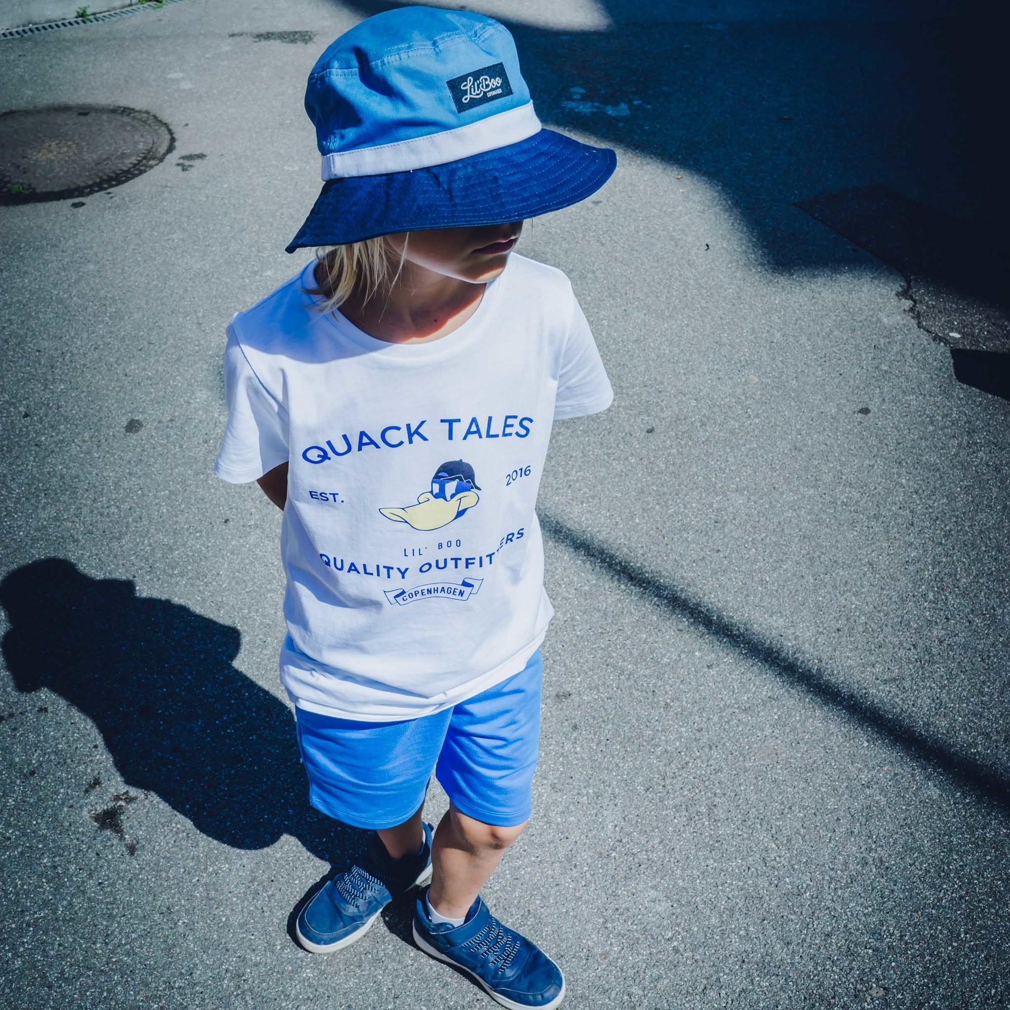 Bucket hat - Blue-2