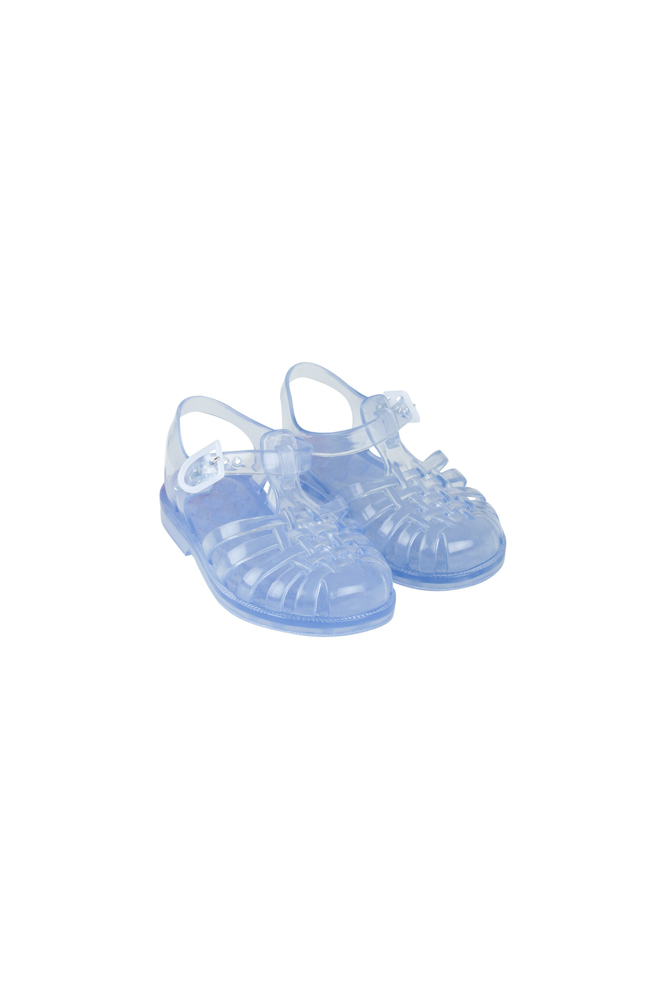 JELLY SANDALS - Transparent-1