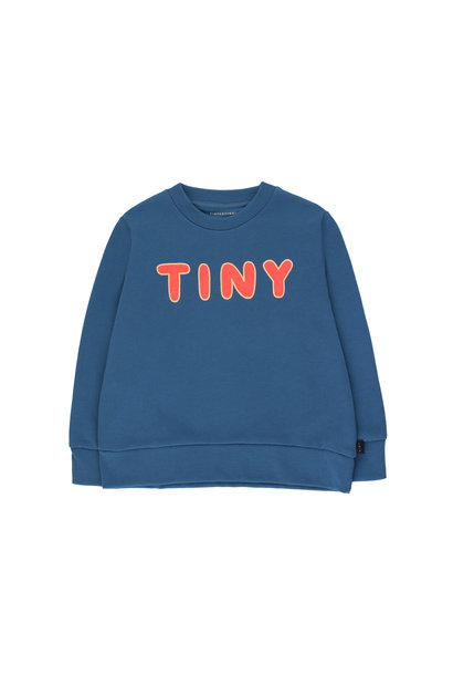 TINY SWEATSHIRT - Summer Navy / Red