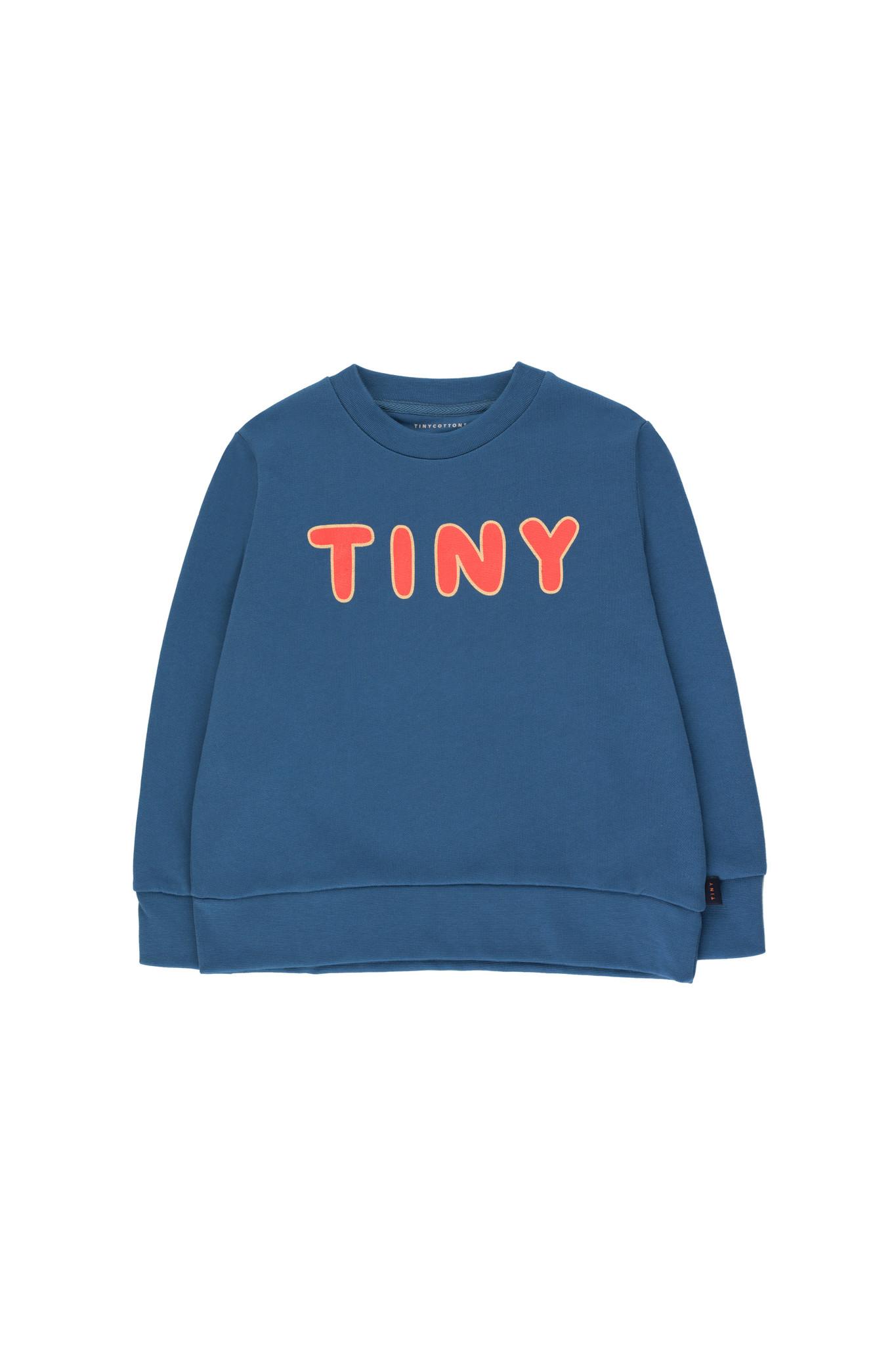 TINY SWEATSHIRT - Summer Navy / Red-1