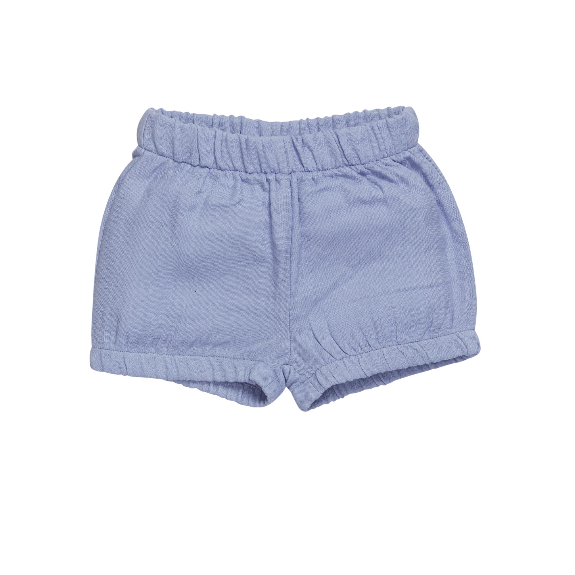 Shorts muslin - Lilac Blue-1