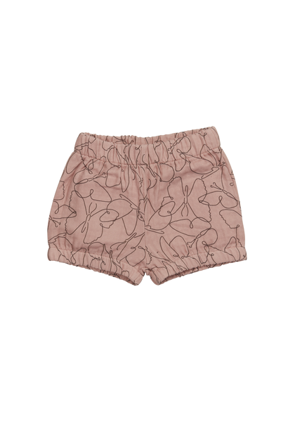 Shorts muslin Butterfly Dream - Powder