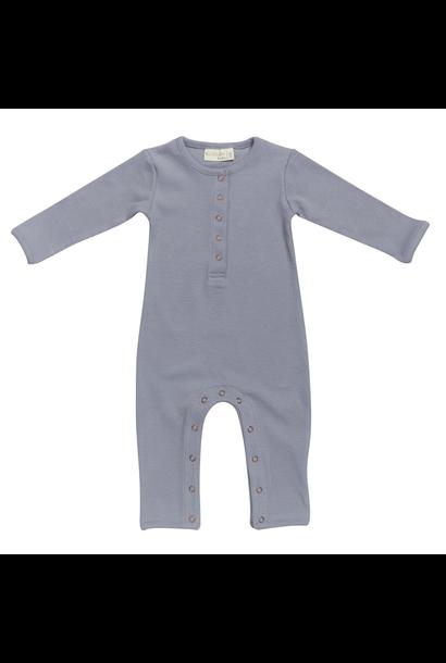 Baby jumpsuit - Blue Grey