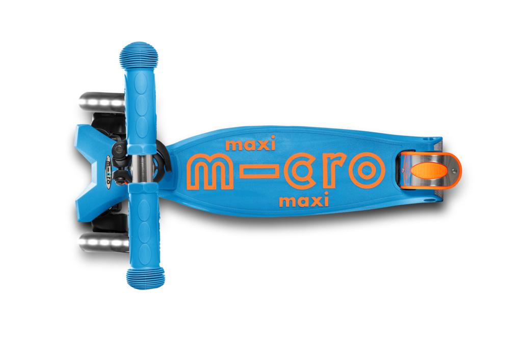 Maxi Deluxe - Aqua / Oranje LED-2