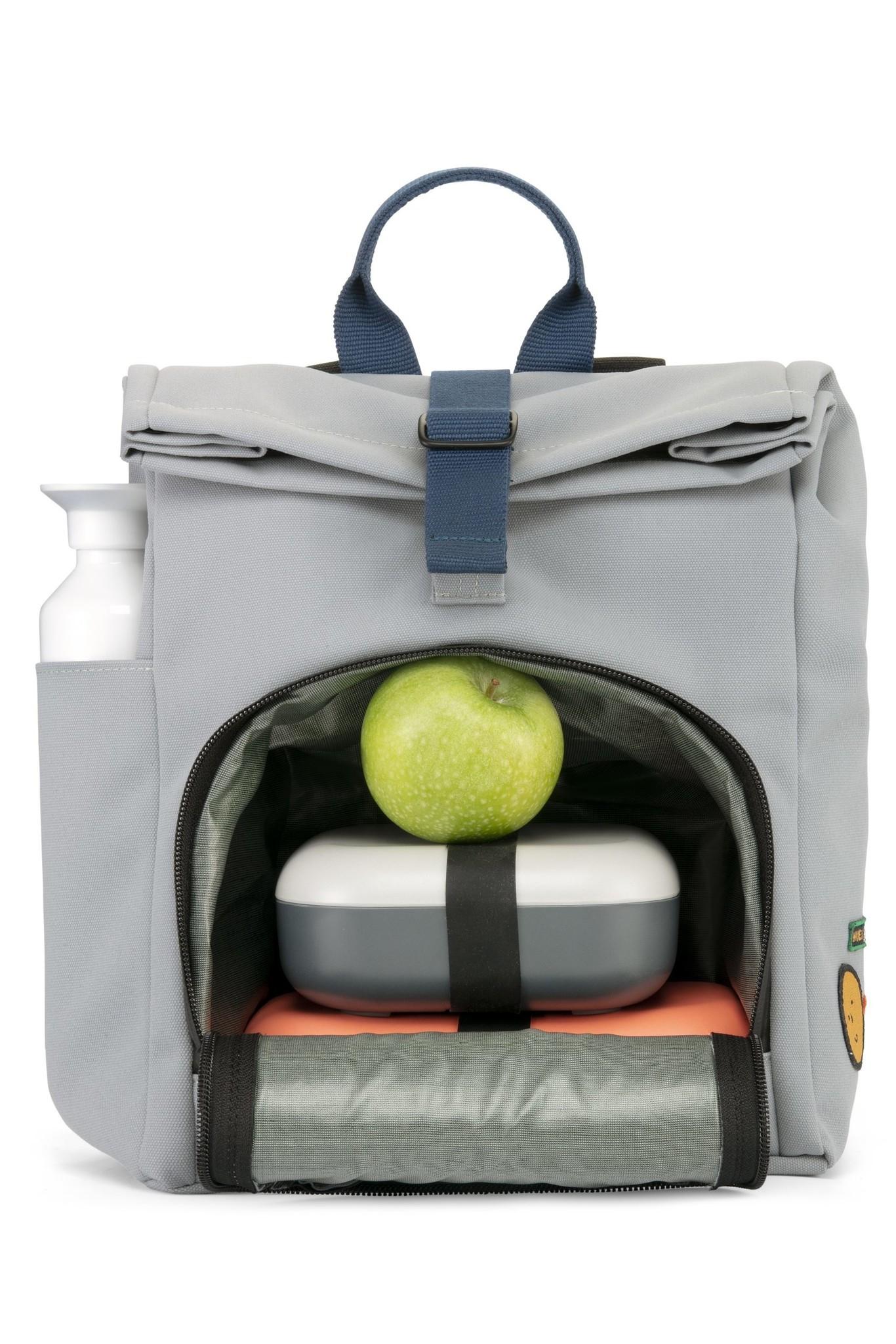Mini Bag - Cloud grey / Ocean Blue-2