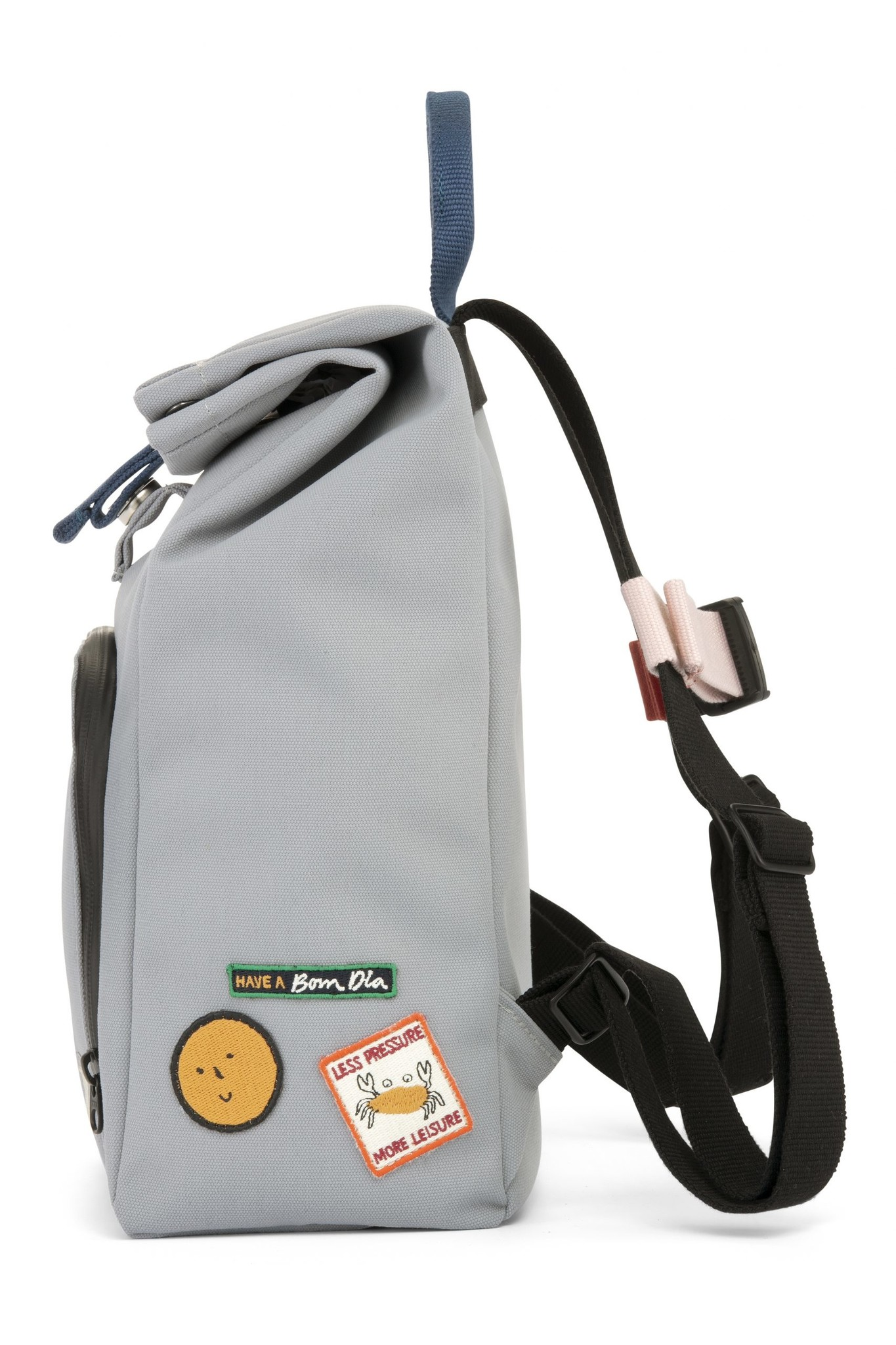 Mini Bag - Cloud grey / Ocean Blue-4