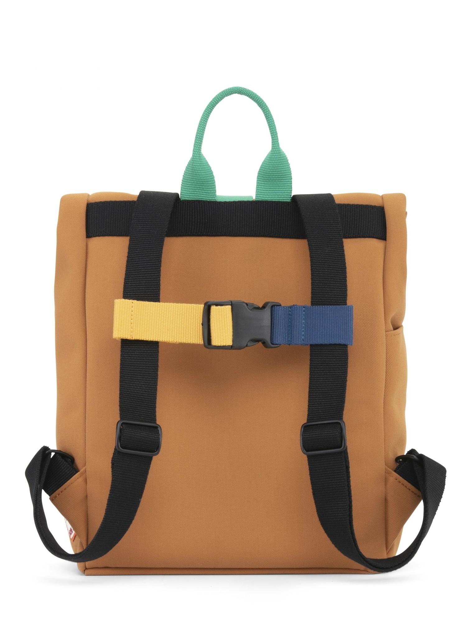 Mini Bag - Sunset Cognac / Forest Green-3