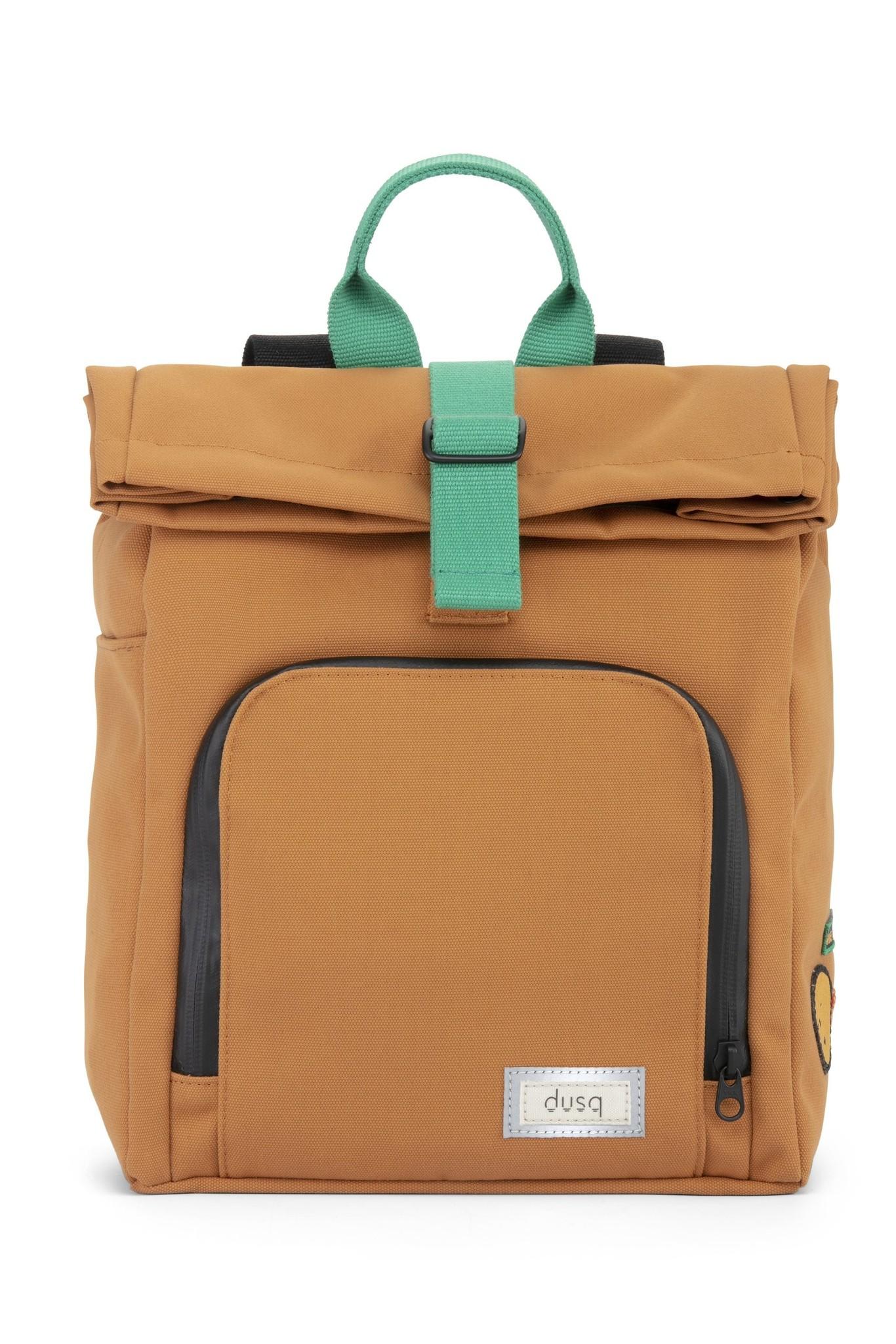 Mini Bag - Sunset Cognac / Forest Green-1
