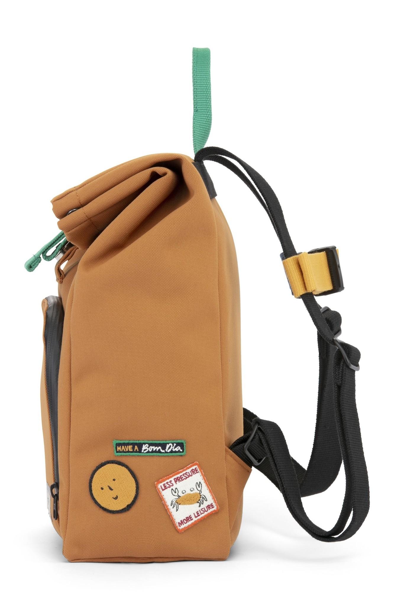 Mini Bag - Sunset Cognac / Forest Green-4
