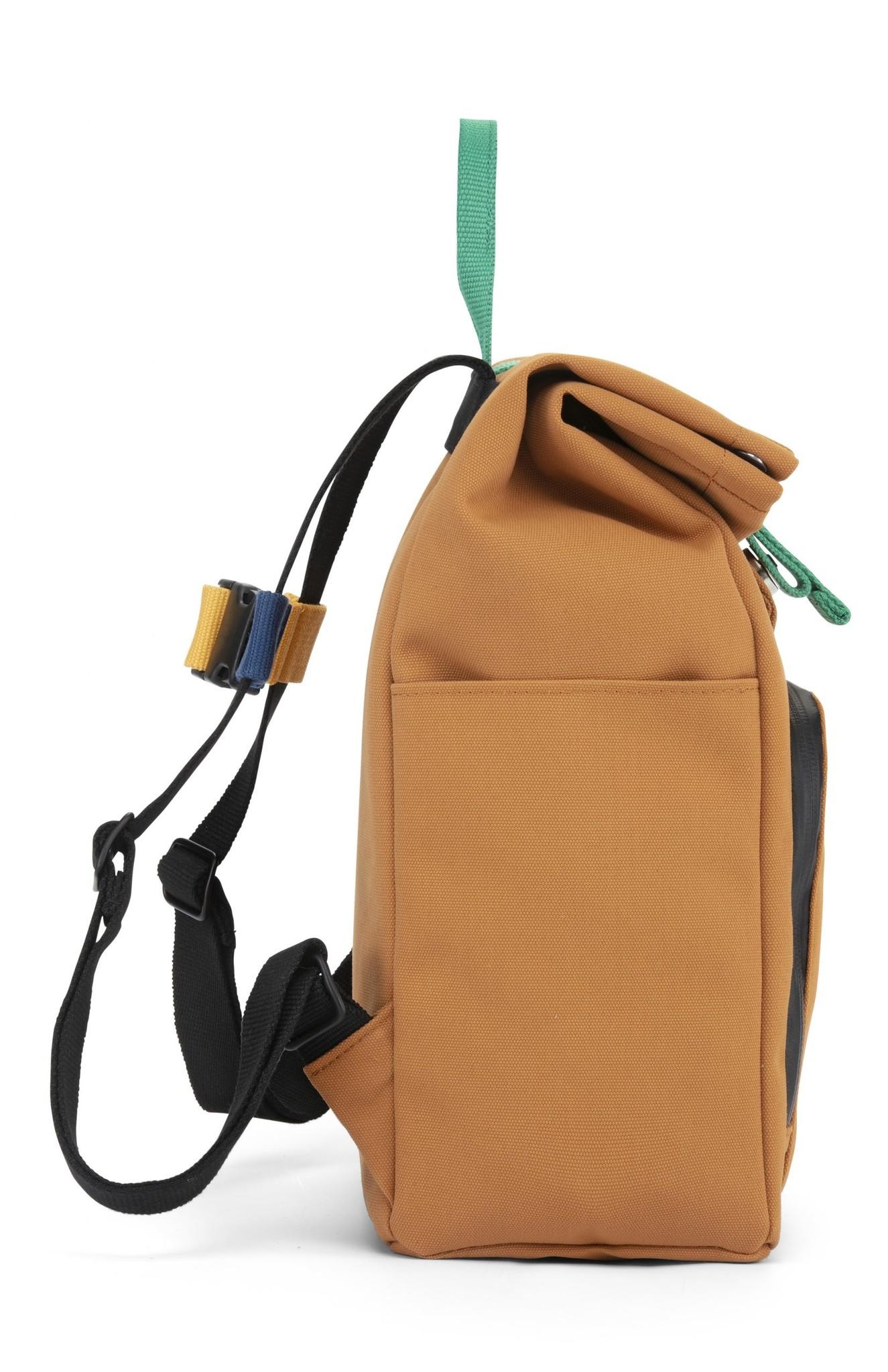 Mini Bag - Sunset Cognac / Forest Green-5