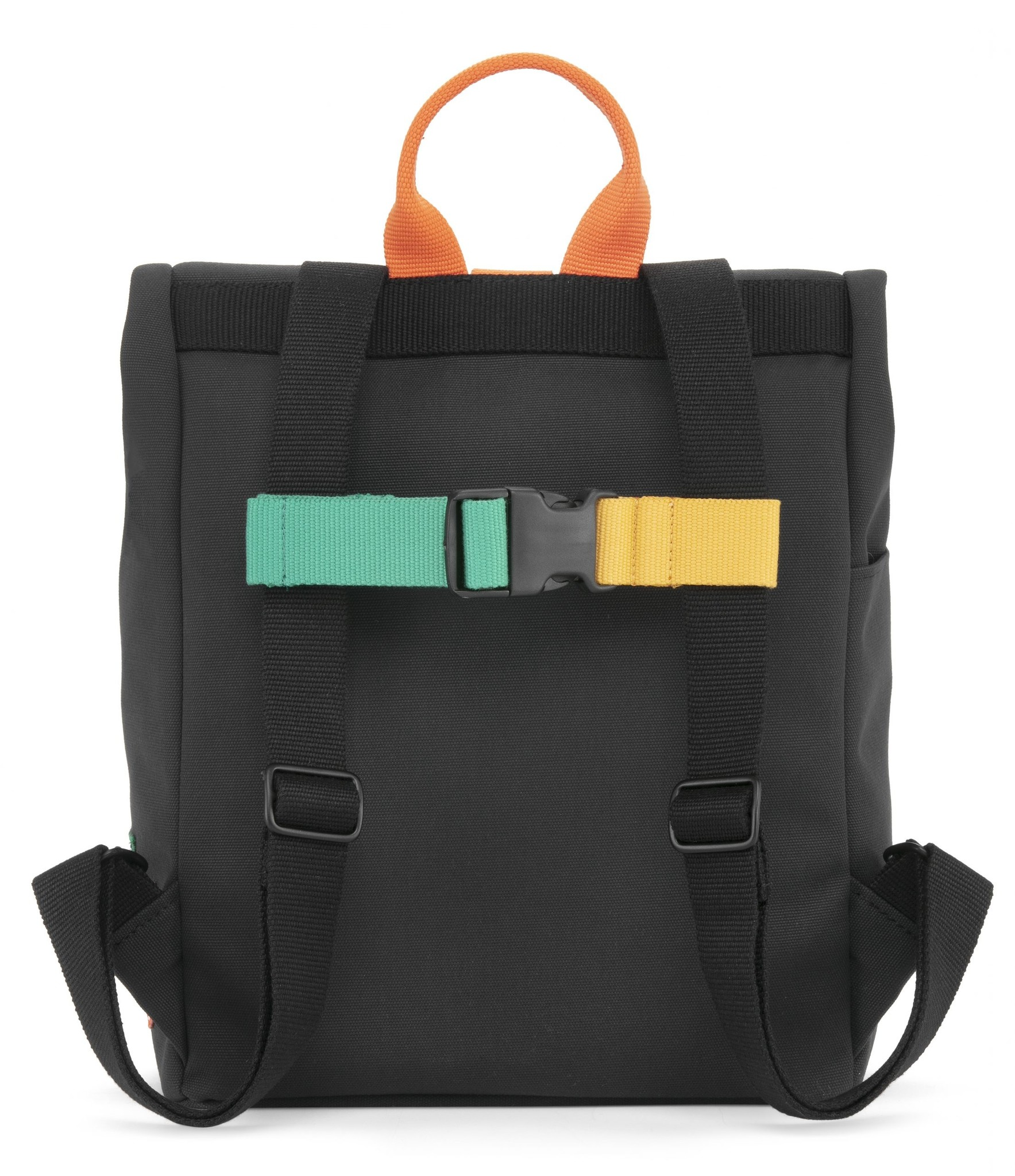 Mini Bag - Night Black / Fresh Orange-3