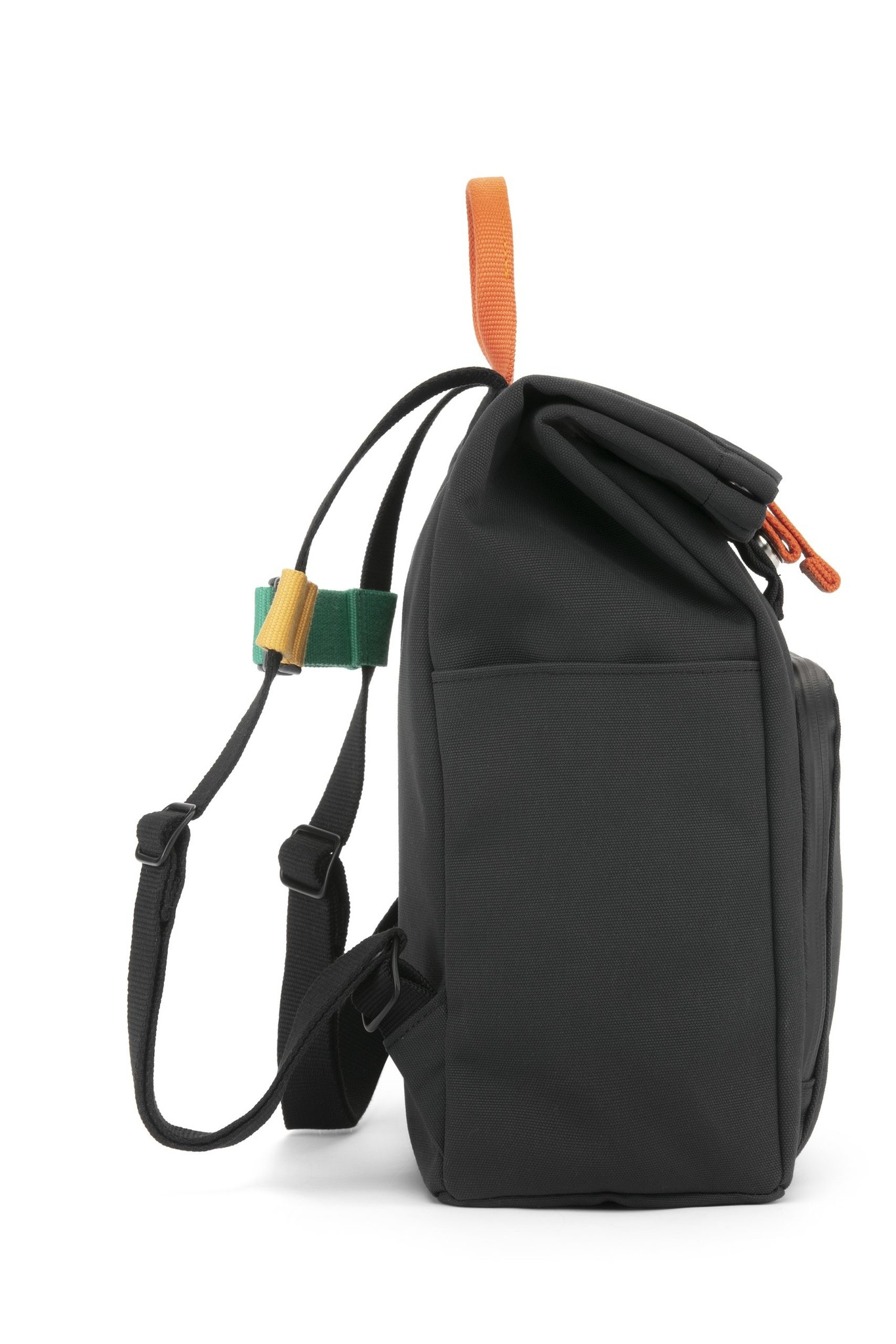 Mini Bag - Night Black / Fresh Orange-5