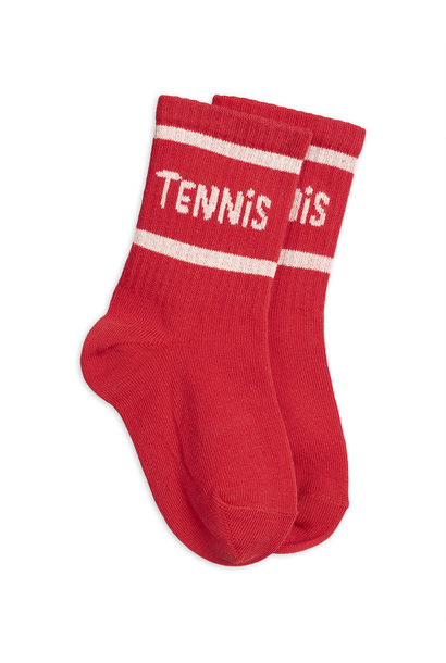 Tennis socks single - Red