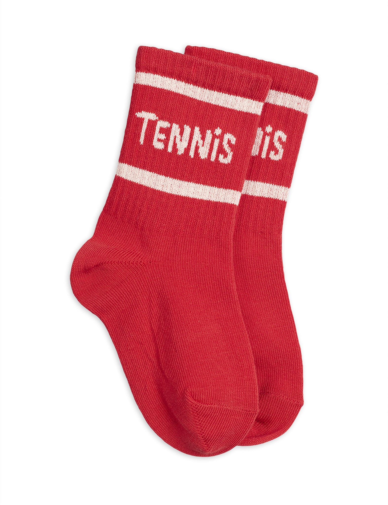 Tennis socks single - Red-1