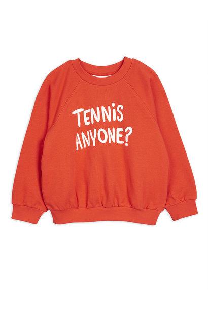 Tennis anyone sp sweatshirt - Red