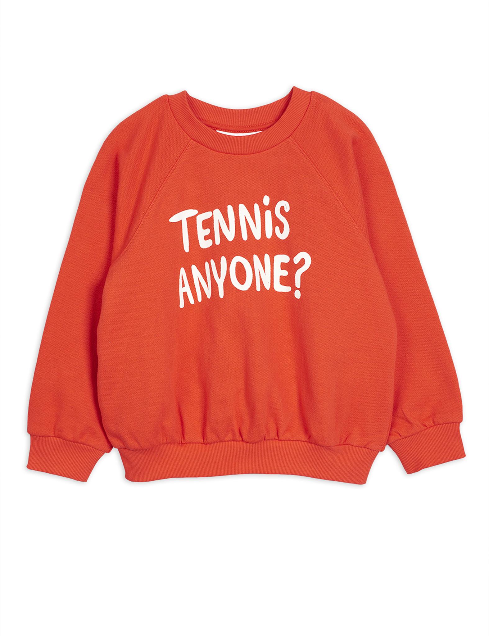 Tennis anyone sp sweatshirt - Red-1