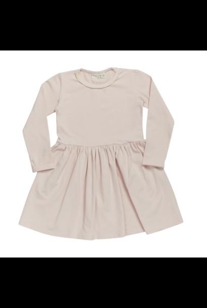 Dress with lace - Pale Blush
