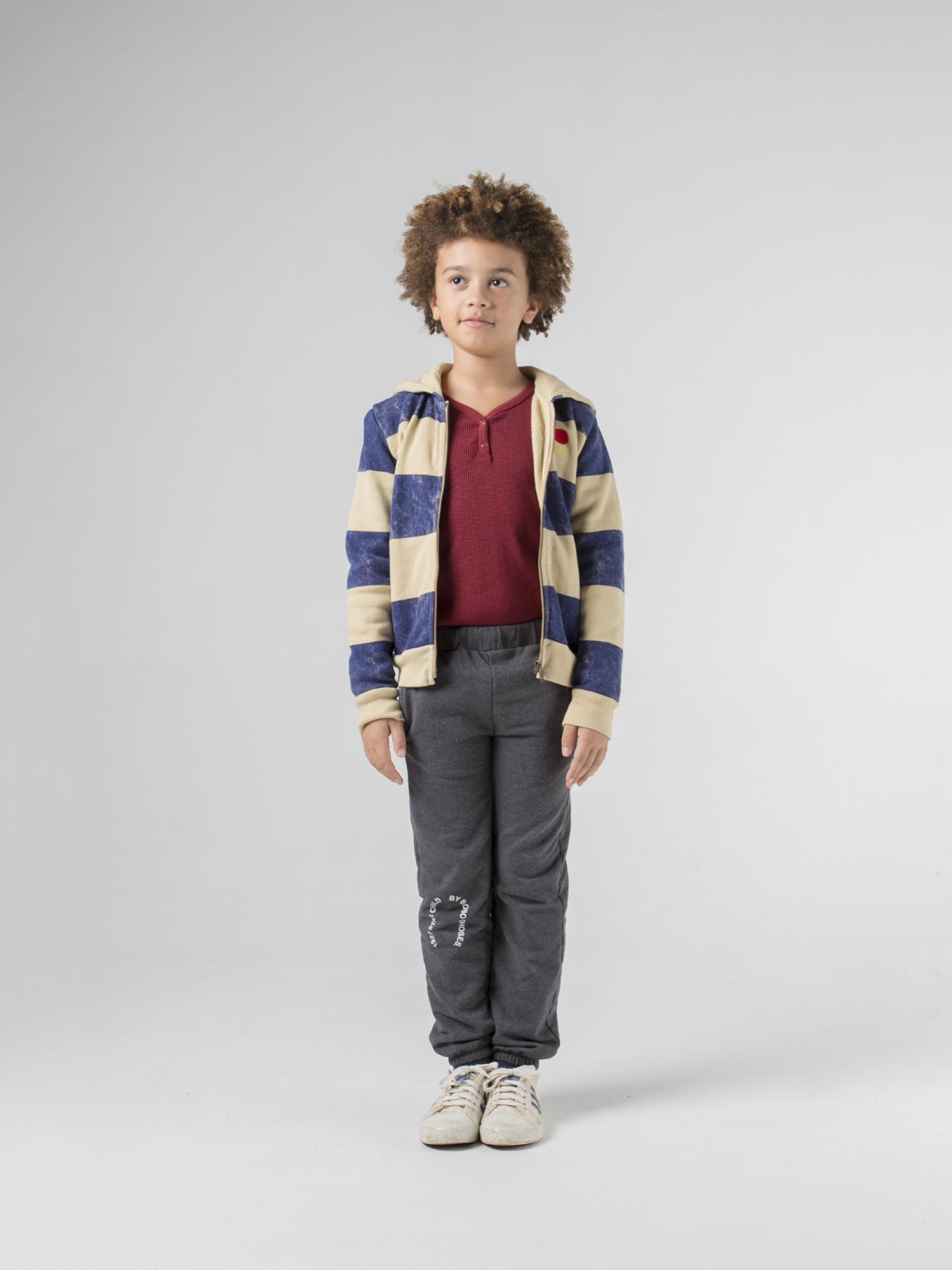Striped Mercury Hooded Sweatshirt-2