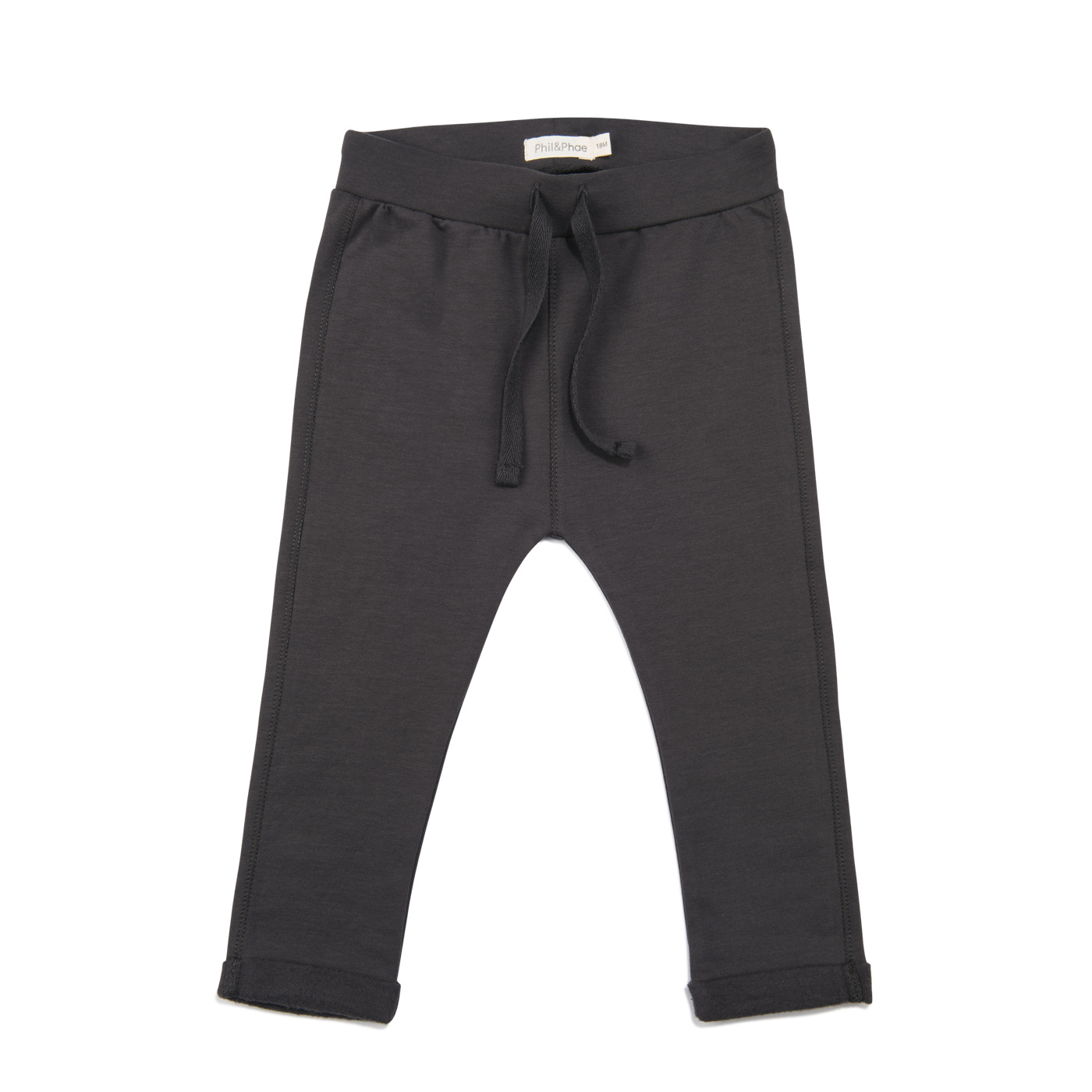 Basic sweat pants - Graphite-1