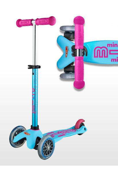 Mini Deluxe turqoize/roze