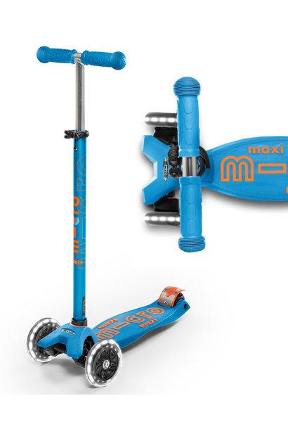 Maxi Deluxe - Aqua / Oranje LED