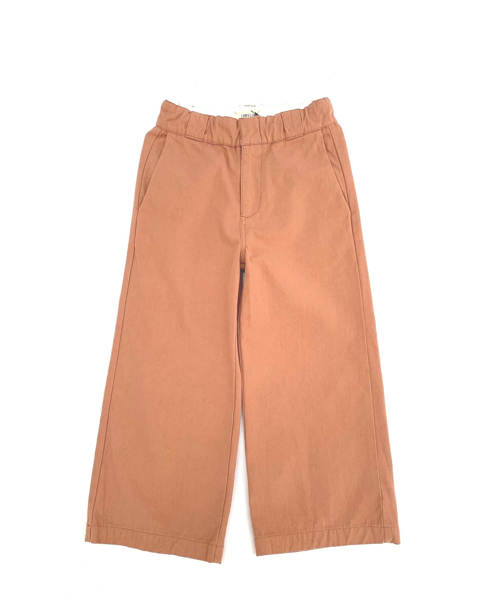 Canvas pants - Red Dust-1