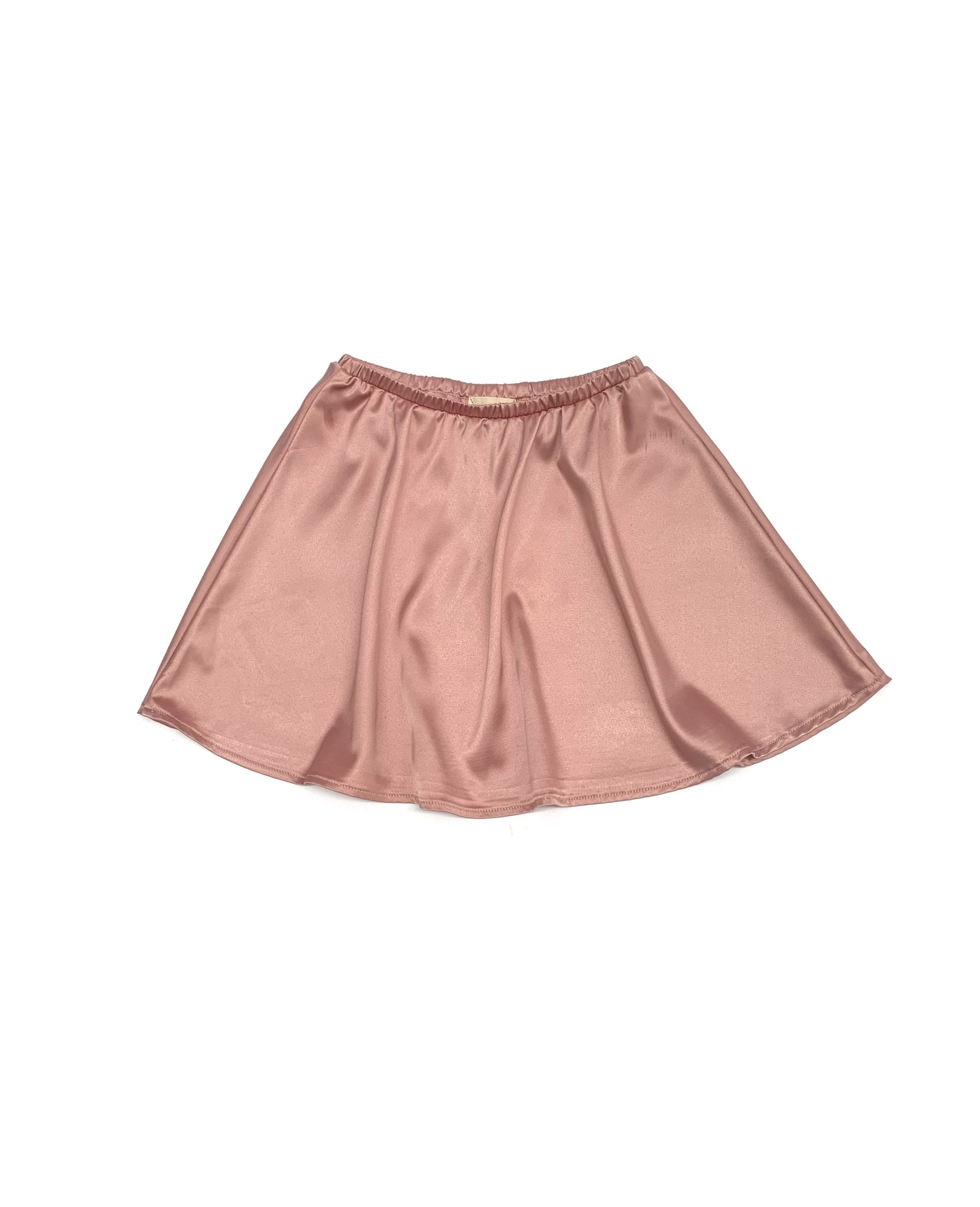 Flared satin skirt - Ballerina-1