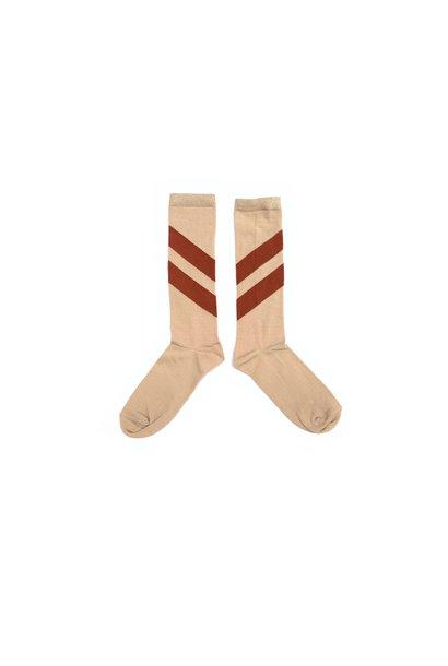 Striped socks - Natural