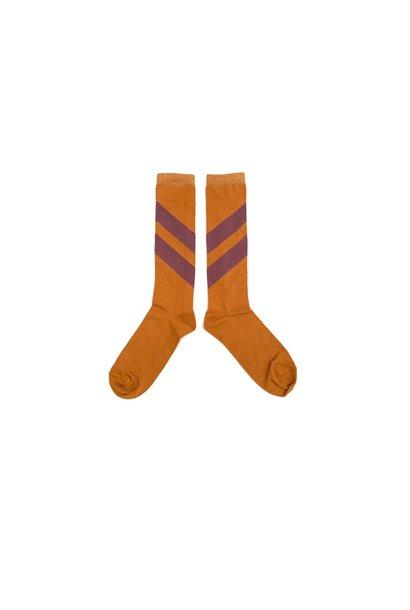 Striped socks - Inca Gold