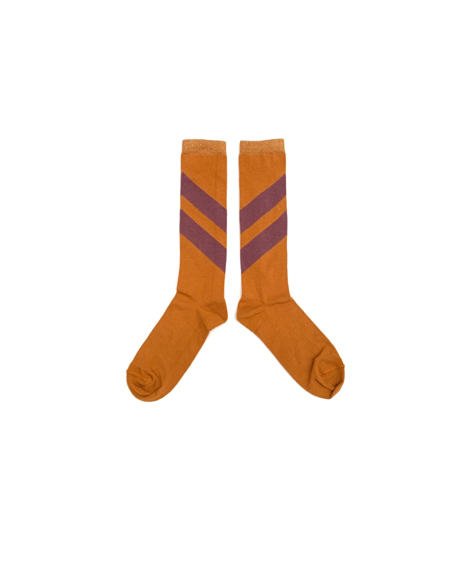 Striped socks - Inca Gold-1