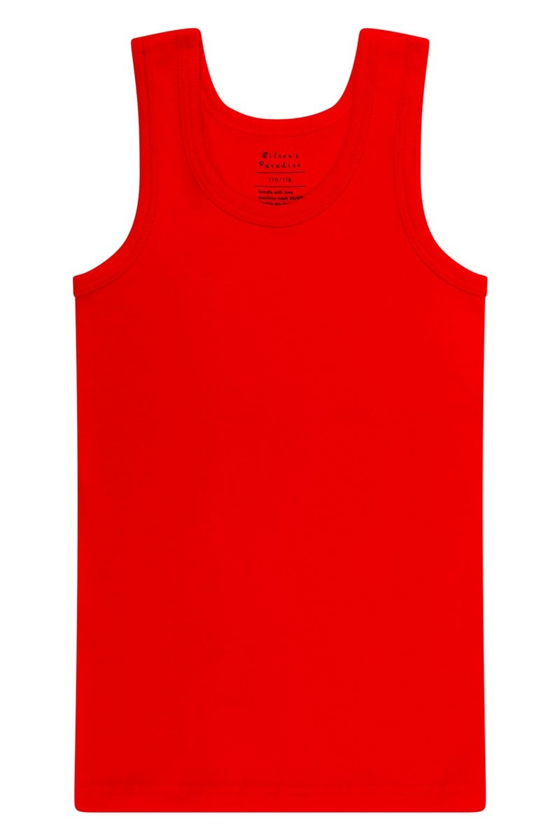 Jongens hemd + boxershort - Rood-3