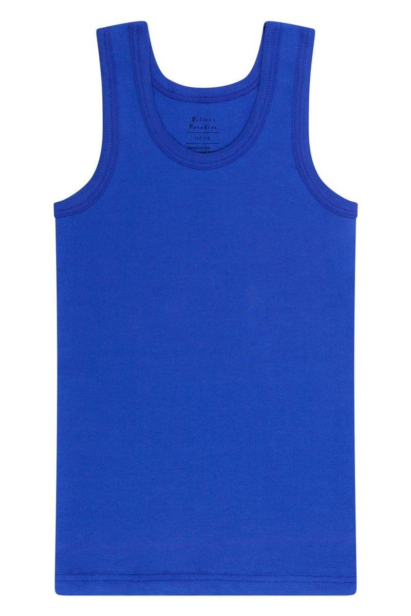 Meisjes hemd + hipster - Blauw-3